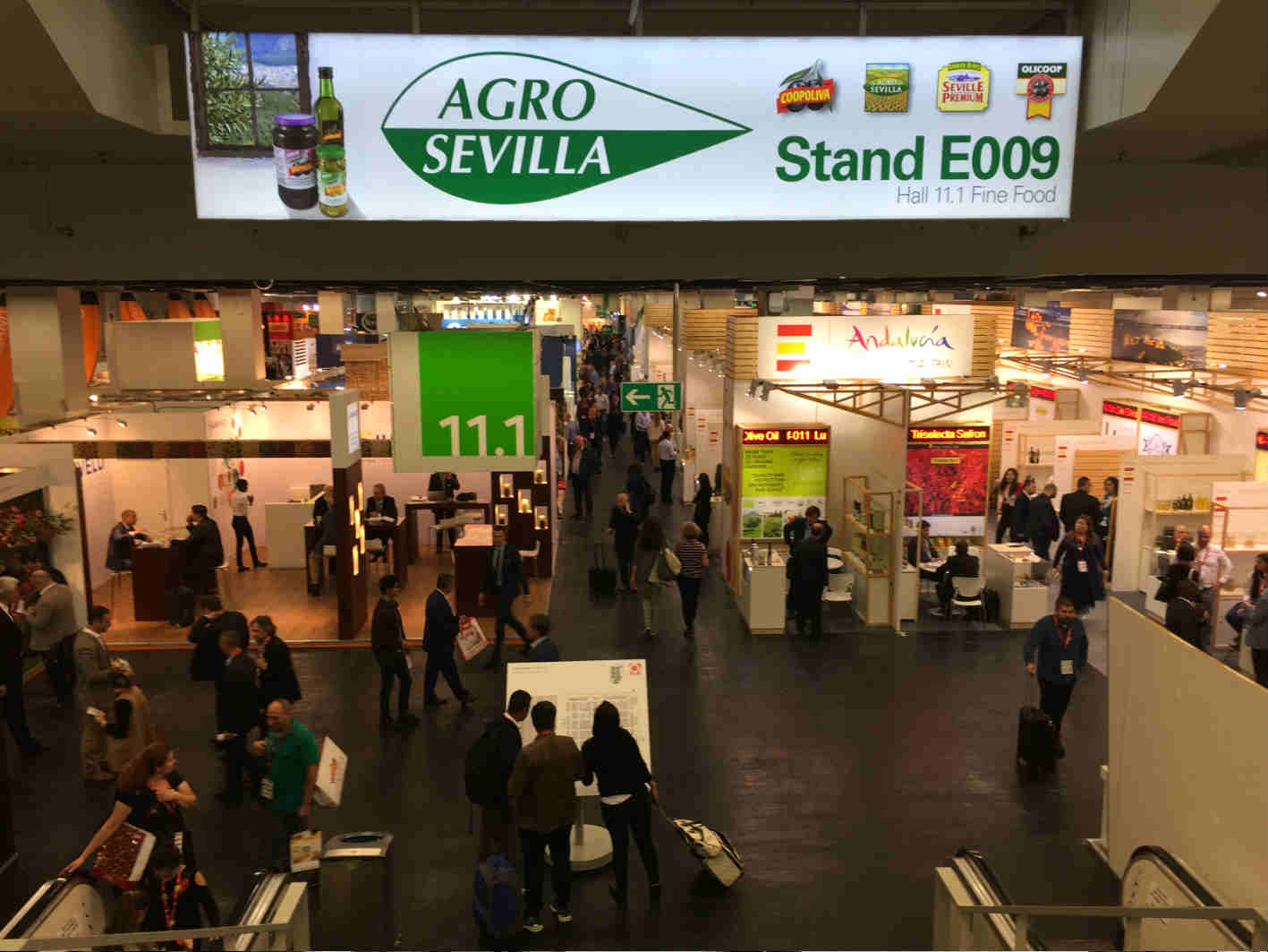 Agro Sevilla at the main food fairs in 2019